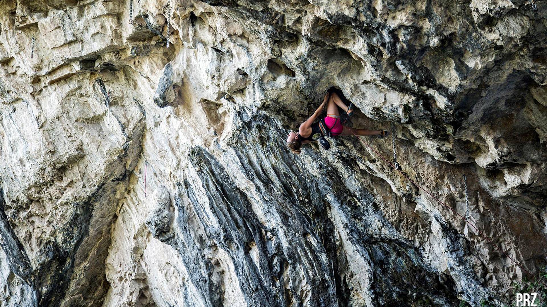 falaise-escalade