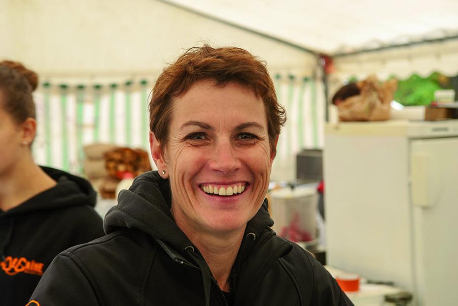 Emmanuelle Thomas, Vice-Présidente de la Dégaine