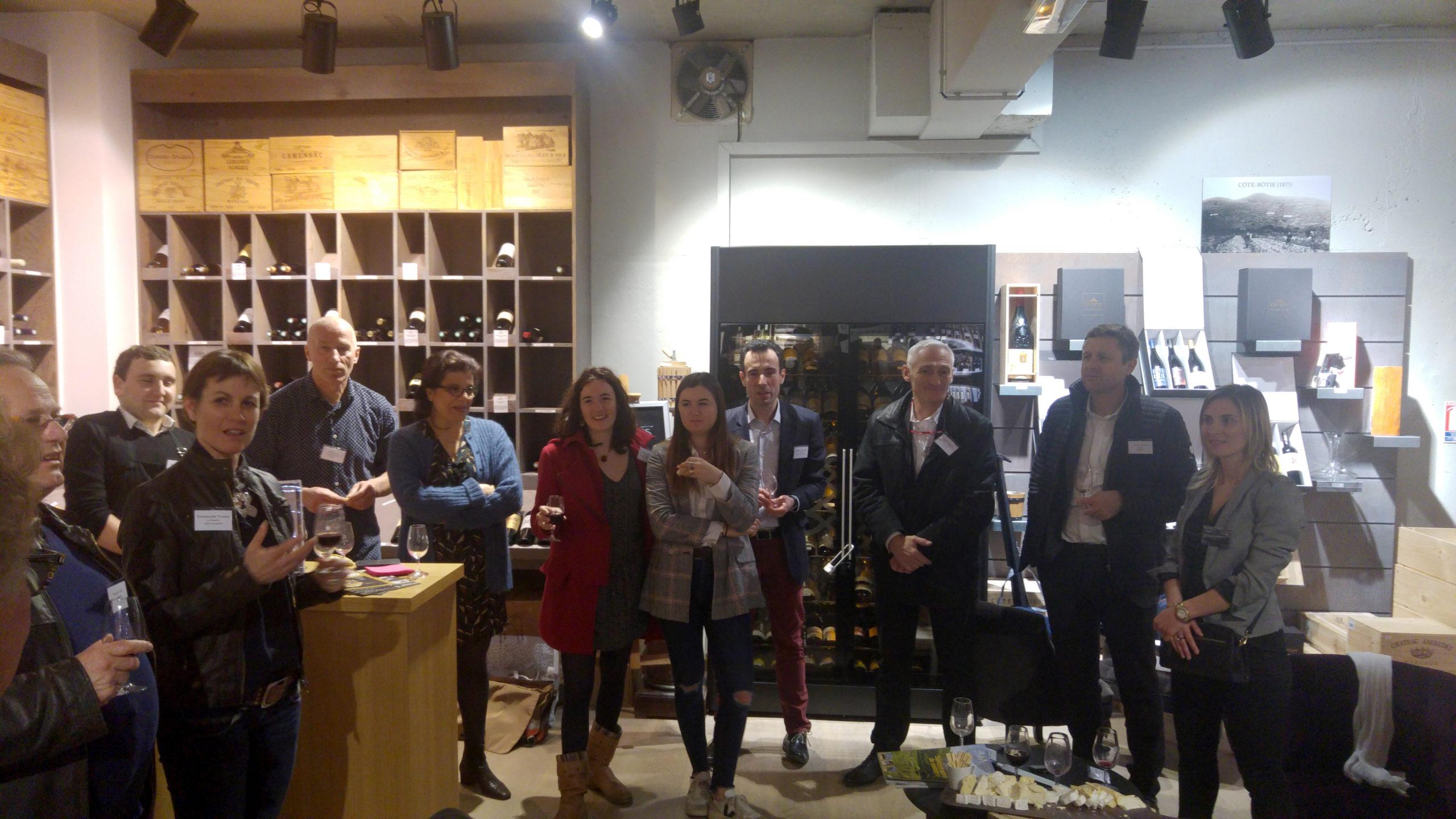 Soirée VIP partenaires Caves GUYOT Champagne