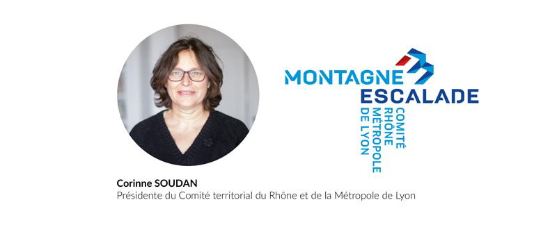 Corinne SOUDAN Présidente du Comité territorial du Rhône et de la Métropole de Lyon