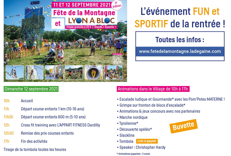 Fête de la Montagne 2021 Lacroix-laval