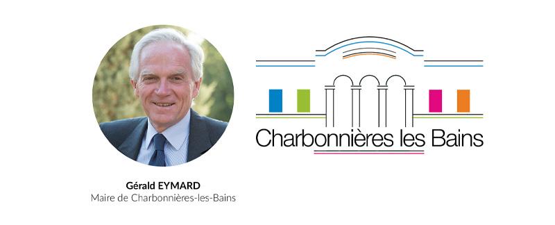 G.EYMARD Maire de Charbonnières-les-Bains
