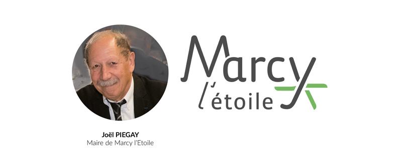 Joël PIEGAY Maire de Marcy l'Etoile