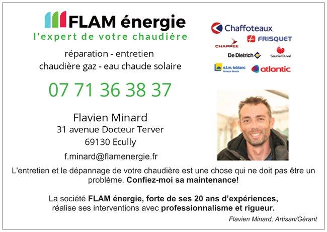 flam-energie partenaire de la dégaine Escalade