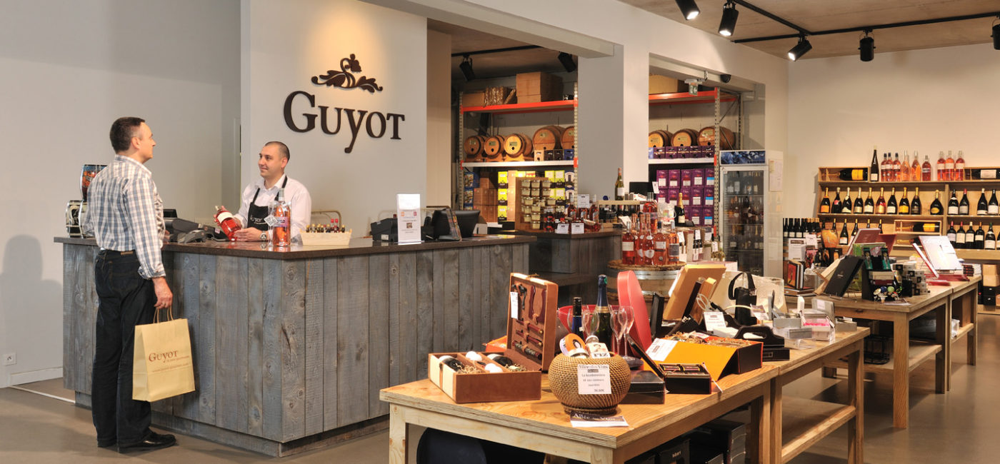 Caves Guyot à Champagne