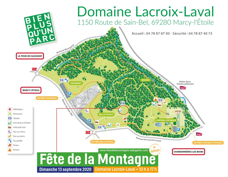 Plan domaine Lacroix-Laval