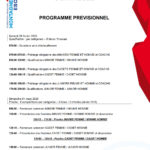 Programme Championnats de France Jeunes à La Baconnière