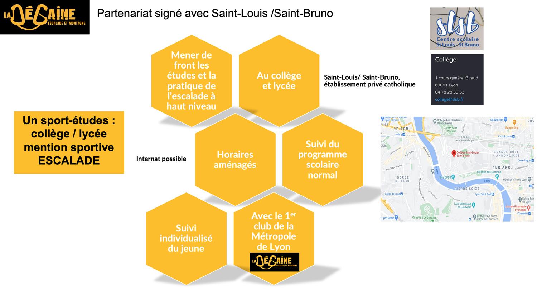 Partenariat signé avec le college Saint-Louis / Saint-Bruno